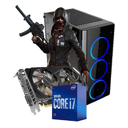 COMPUTADOR GAMER SURVIVOR, I7-10700F, GEFORCE GTX 1660 6GB, 16GB DDR4, SSD 480GB, 500W 80 PLUS