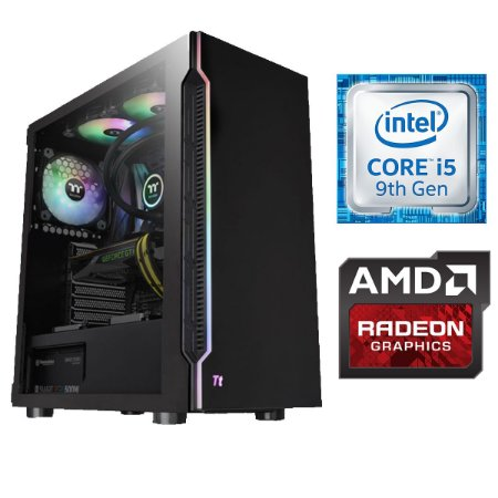 COMPUTADOR WORKSTATION, I5-9400F, RX 580 8GB, 16GB DDR4, SSD 240GB, HD 1TB, 600W 80 PLUS