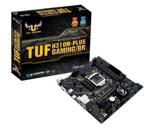 PLACA MÃE ASUS TUF H310M-PLUS GAMING, LGA 1151 CHIPSET INTEL H310