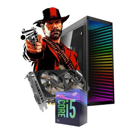 COMPUTADOR GAMER MAGNUM, I5-9400F, GEFORCE RTX 2060 6GB, 16GB DDR4, SSD 120GB, HD 1TB, 500W 80 PLUS