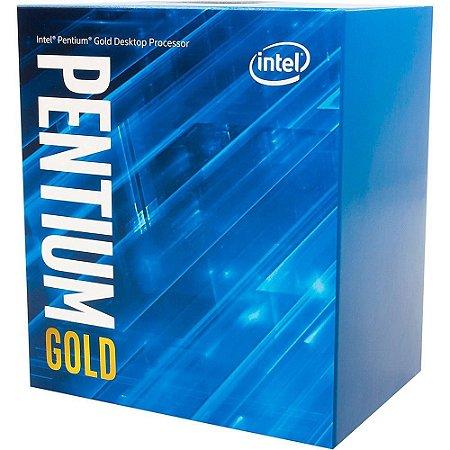 PROCESSADOR INTEL PENTIUM GOLD G5400 DUAL-CORE 3.7GHZ 4MB CACHE LGA1151, BX80684G5400