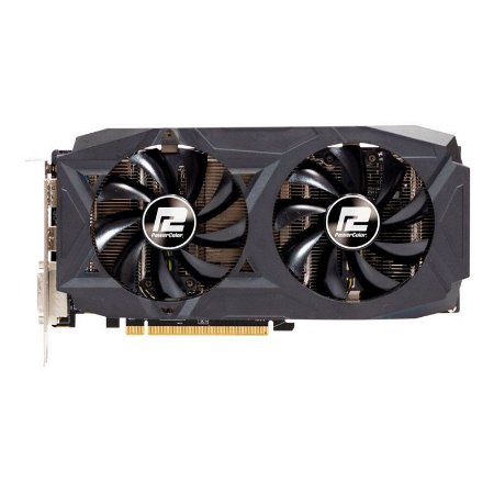 PLACA DE VIDEO POWERCOLOR RADEON RX 590 8GB GDDR5 RED DRAGON 256-BIT, AXRX 590 8GBD5-DHD