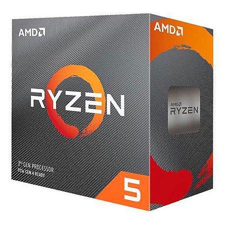 PROCESSADOR AMD RYZEN 5 3600 HEXA-CORE 3.6GHZ (4.2GHZ TURBO) 35MB CACHE AM4, 100-100000031BOX