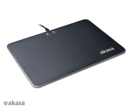 MOUSE PAD AKASA VEGAS X9 - 350 X 250 X 5.8MM - ILUMINAÇÃO RGB - USB - AK-MPD-04RB