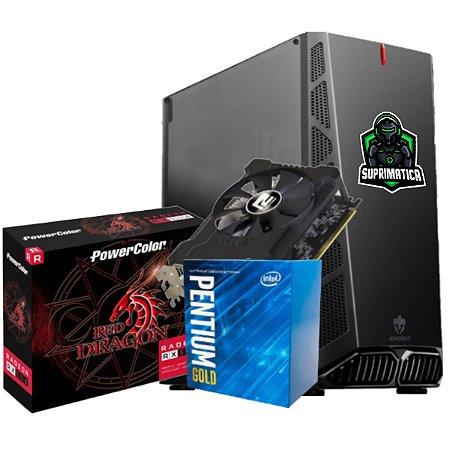 COMPUTADOR GAMER, G5400, RX 550 4GB, 8GB DDR4, SSD 240GB, 500W