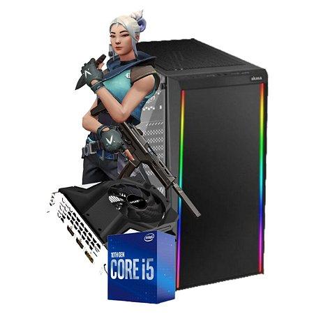 COMPUTADOR GAMER PROJECT A, I5-10400F, GEFORCE GTX 1650 4GB, 8GB DDR4, SSD 240GB, 500W