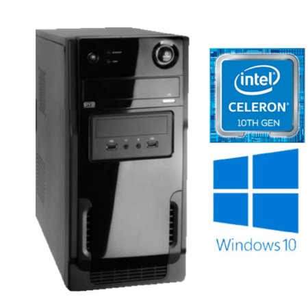 COMPUTADOR SUPRI HOME BASIC, INTEL CELERON G5905, 4GB DDR4, SSD 240GB, 230W REAL