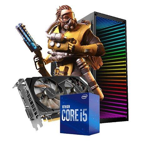 COMPUTADOR GAMER LEGENDS, I5-10400F, GEFORCE GTX 1660 6GB, 8GB DDR4, SSD 120GB, HD 1TB, 500W 80 PLUS