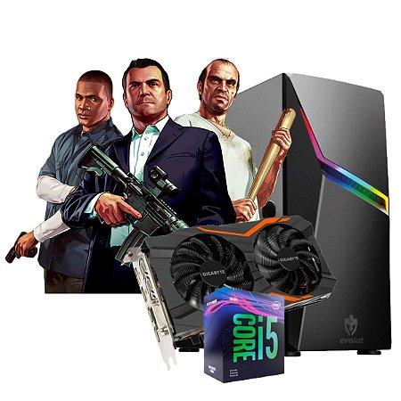 COMPUTADOR GAMER LOS SANTOS, I5-9400F, GEFORCE GTX 1050 TI 4GB, 8GB DDR4, SSD 240GB, 500W