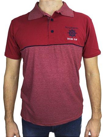 Camisa Polo 2 cores Fortman Vermelho