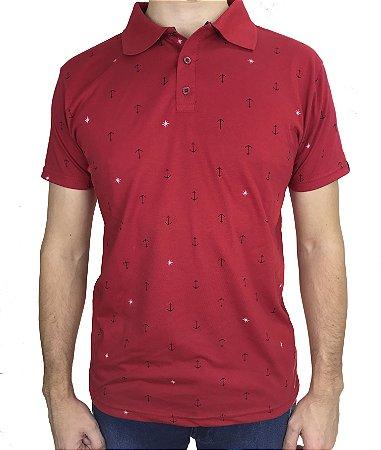 Camisa Polo Fortman Ancora Vermelha