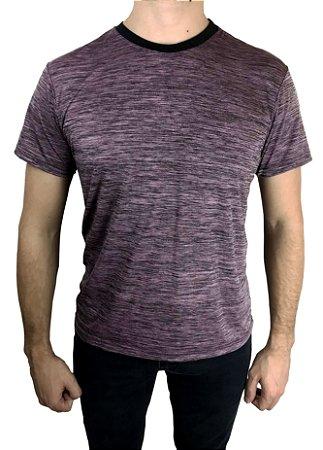 Camiseta Esportiva Roxa Poliamida Fortman