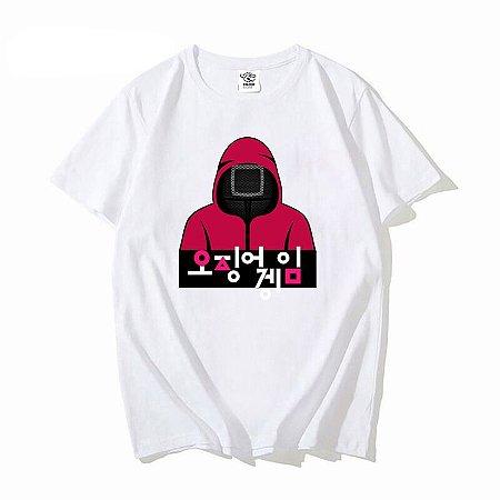 Camiseta Squid Game Kdrama Korean Round 6