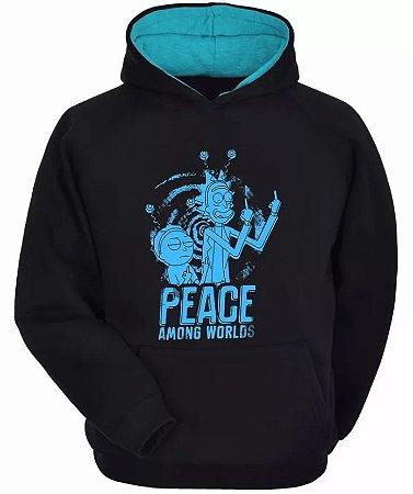 Moletom Rick And Morty - Peace