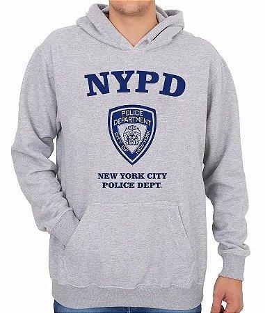 Moletom New York Police Nypd - Polícia Uniforme