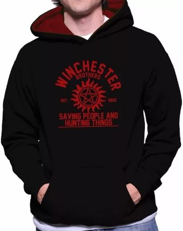 Moletom Supernatural - Winchester Brothers