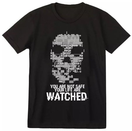 Camiseta Watch Dogs - Dedsec