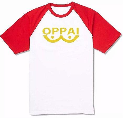 Camiseta Raglan One-punch Man Oppai