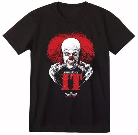 Camiseta Stephen Kings It - Pennywise