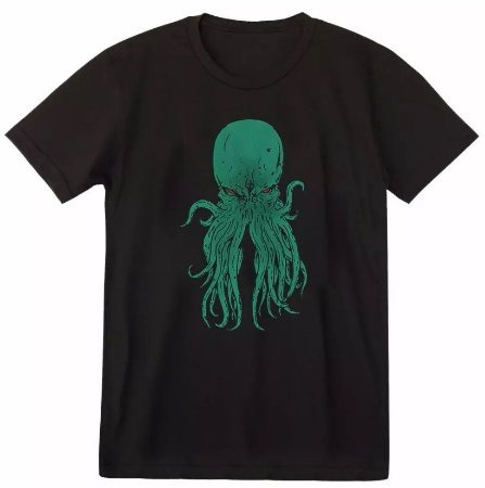 Camiseta Cthulhu Hp Lovecraft