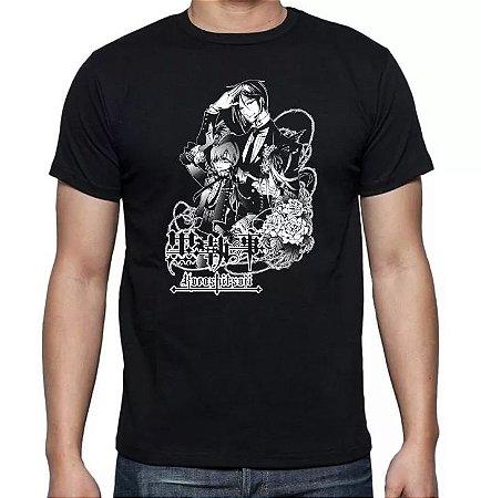 Camiseta Kuroshitsuji - Sebastian E Ciel