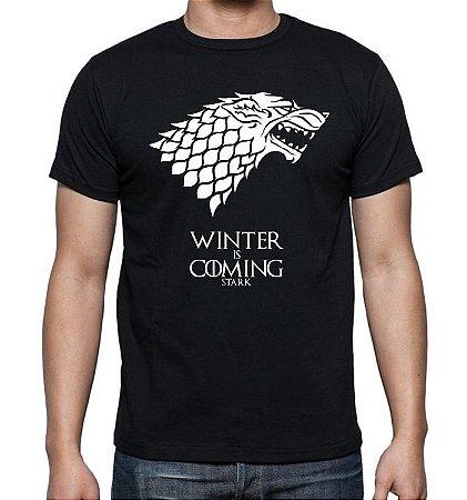 Camiseta Game Of Thrones - Stark - Winter Is Coming