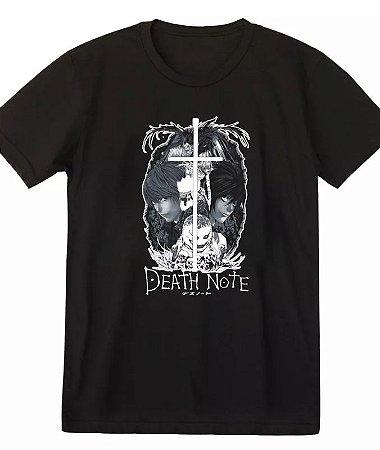 Camiseta Death Note Yagami Light
