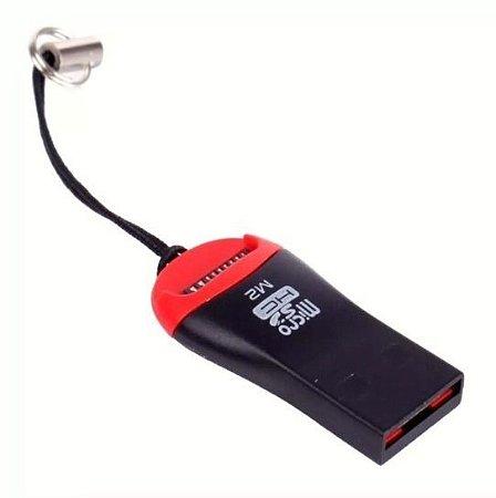 Mini leitor de cartão micro sd