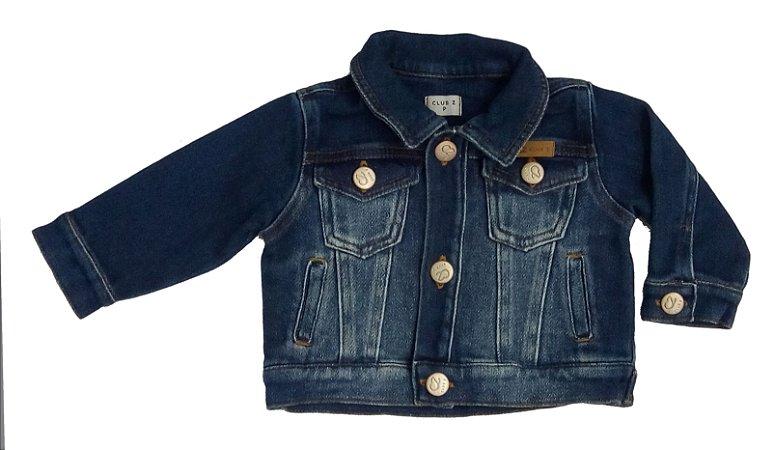 Jaqueta Baby Masculina Jeans Lavagem Moderna Club Z