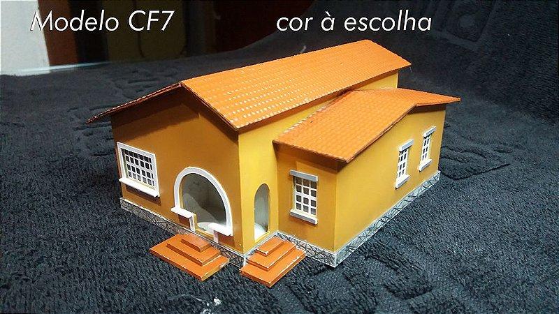 Casa Popular Modelo CF7 H.O.