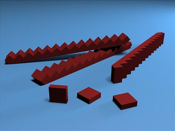 Escada H.O.para maquetes (pacote com 3)