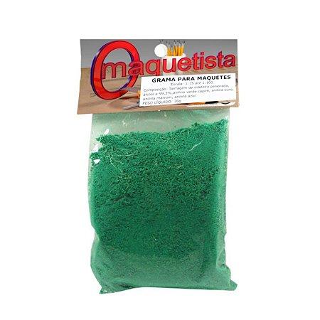 Grama para Maquetes/Dioramas Verde Broto 30g