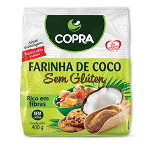 Farinha de Coco sem Glúten 400g