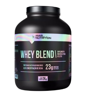WHEY PROTEIN BLEND 2KG - SABOR CHOCOLATE
