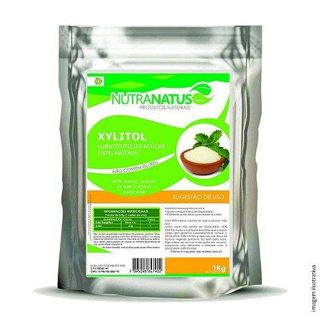 Xylitol Puro 1kg Adoçante Natural
