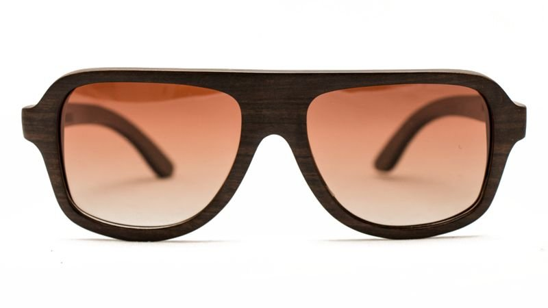 Óculos de Madeira - INSANE // WOOD = CHAKATE BLACK