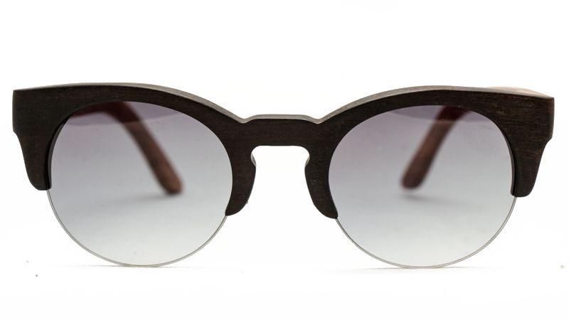 Óculos de Madeira  - MOITY BLACK SERIES // WOOD = EBANO+ZEBRAWOOD