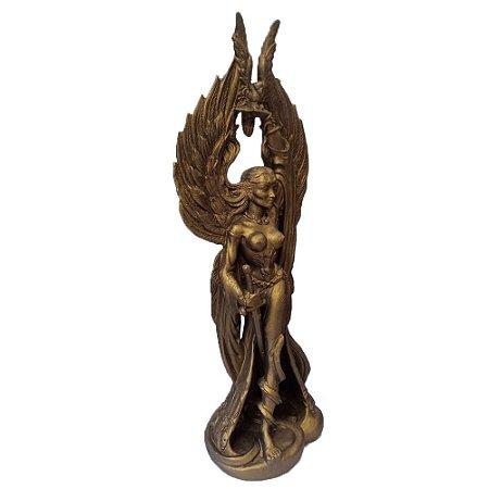 Estátua Deusa Morrigan