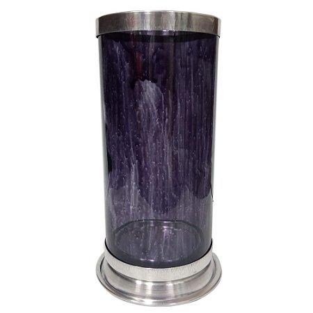 Porta Vela (Castiçal) 7 dias em Vidro colorido