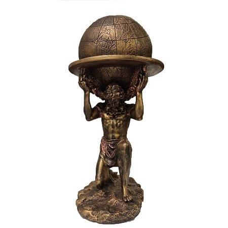 Estátua Deus Atlas