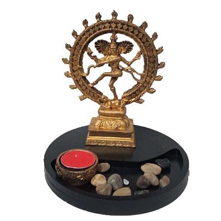 Jardim Zen Shiva na Roda de Fogo