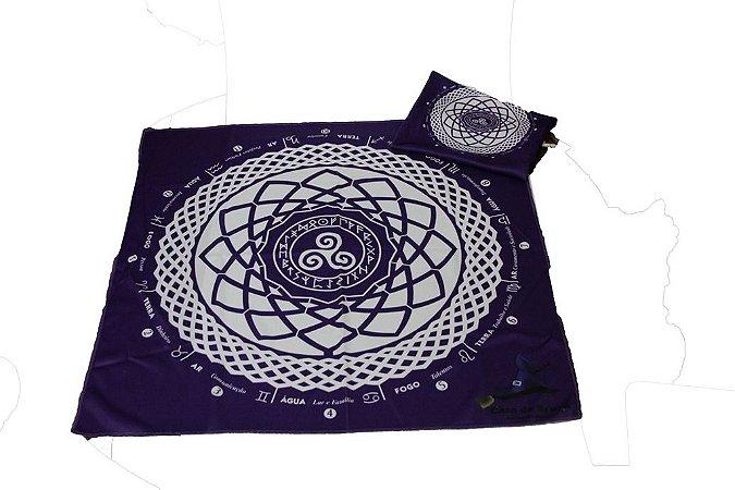 Mandala para Tiragem de Tarô e Runas