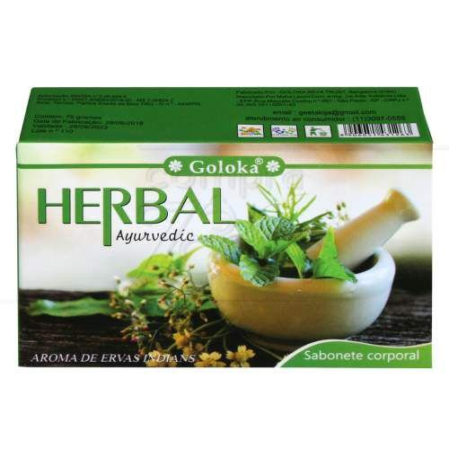 Sabonete Herbal Ayurvedico - Limpeza Astral