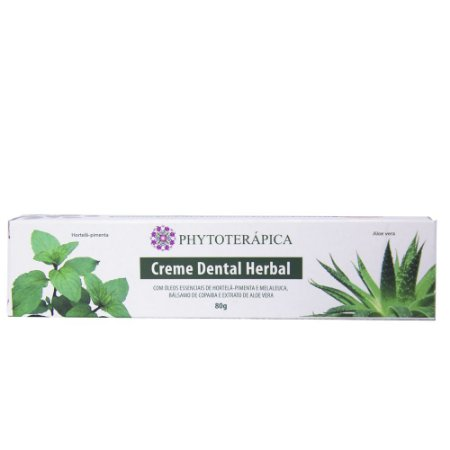 Creme Dental Phytoterapica