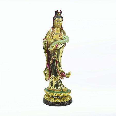 Imagem Kuan Yin Dourada