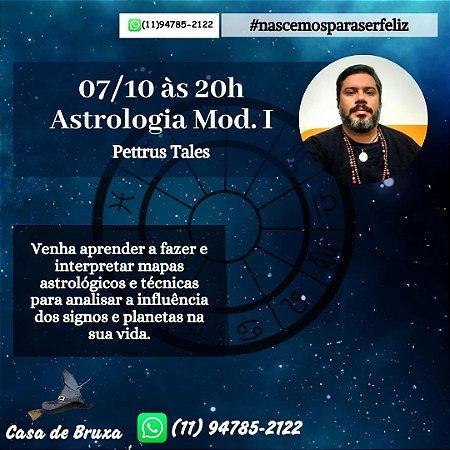 07/10/2020 - Astrologia, Mod. I (ONLINE)