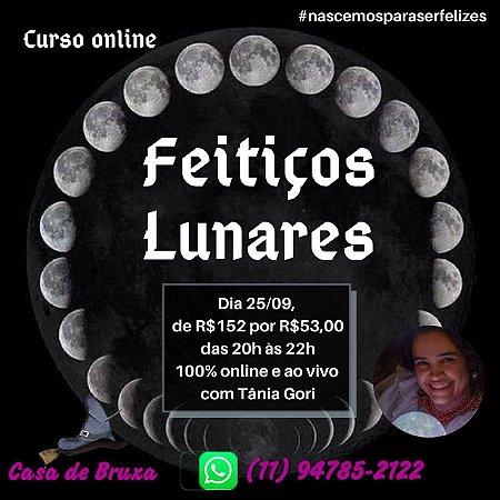 25/09/2020 - Feitiços Lunares (ONLINE)