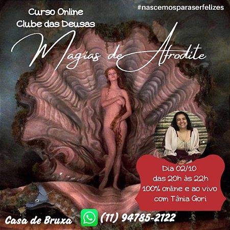 02/10/2020 - Magias de Afrodite (ONLINE)