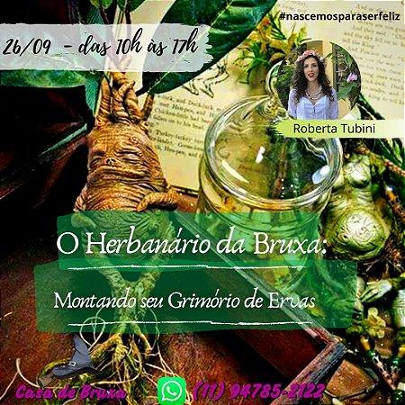 26/09/2020 - Herbanário da Bruxa (ONLINE)