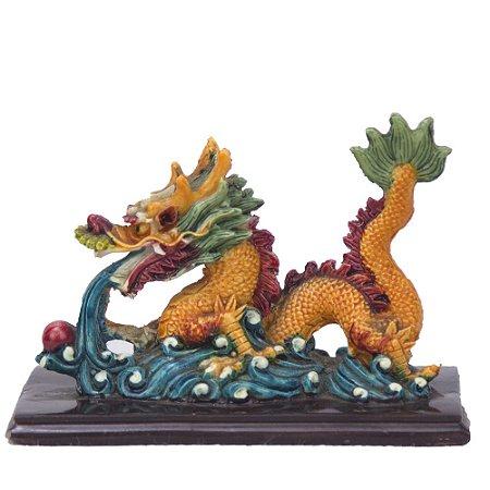 Dragão Chines Laranja